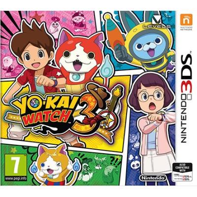 Yo-Kai Watch 3 [3DS, английская версия]