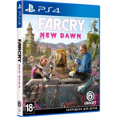 Игра для PlayStation 4 Far Cry: New Dawn