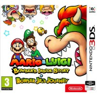 Mario & Luigi Bowser's Inside Story + Bowser Jr.'s Journey [3DS, английская версия]