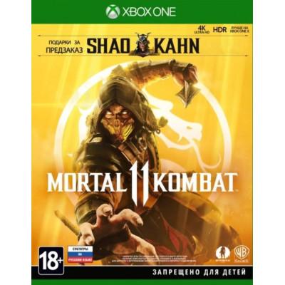 Игра для Xbox One Mortal Kombat 11 (русские субтитры)