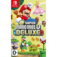 New Super Mario Bros U Deluxe [NS, русская версия]