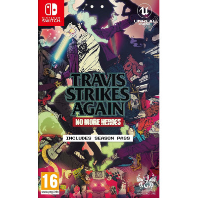 Игра для Nintendo Switch Travis Strikes Again: No More Heroes (английская версия)