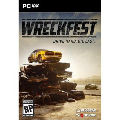 Игра для PC Wreckfest (русские субтитры)