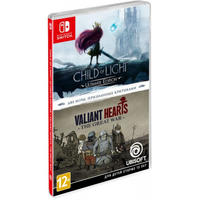 "Игра для Nintendo Switch Комплект ""Child of Light"" + ""Valiant Hearts. The Great War"" (русская версия)"