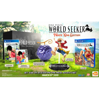 One Piece World Seeker. The Pirate King Edition [PS4, русские субтитры]
