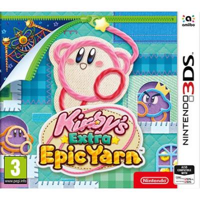 Игра для Nintendo 3DS Kirby's Extra Epic Yarn (английская версия)