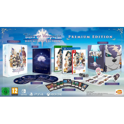 Tales of Vesperia: Definitive Edition. Premium Edition [NS, русские субтитры]