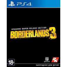 Borderlands 3. Super Deluxe Edition [PS4, русские субтитры]