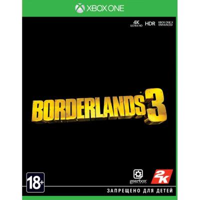 Игра для Xbox One Borderlands 3 (русские субтитры)