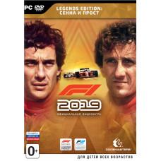 F1 2019. Legend Edition: Сенна и Прост [PC, русские субтитры]
