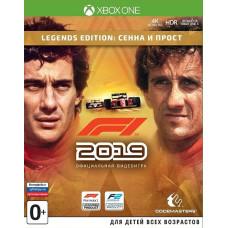 F1 2019. Legend Edition: Сенна и Прост [Xbox One, русские субтитры]
