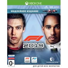 F1 2019. Юбилейное издание [Xbox One, русские субтитры]