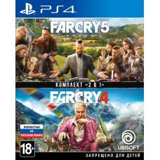 "Комплект ""Far Cry 4"" + ""Far Cry 5"" [PS4, русская версия]"