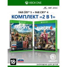 """Комплект """"Far Cry 4"""" + """"Far Cry 5"""" [Xbox One, русская версия]"""
