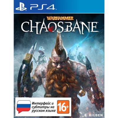 Игра для PlayStation 4 Warhammer: Chaosbane (русские субтитры)