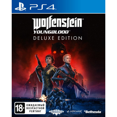 Игра для PlayStation 4 Wolfenstein: Youngblood. Deluxe Edition (русская версия)