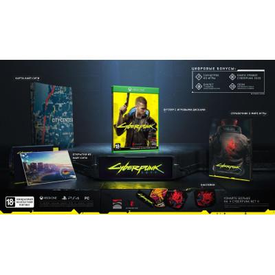 Игра для Xbox One Cyberpunk 2077. Специальное издание (русская версия)