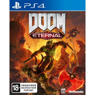 Игра для PlayStation 4 DOOM Eternal (русская версия)