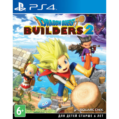 Игра для PlayStation 4 Dragon Quest Builders 2 (английская версия)