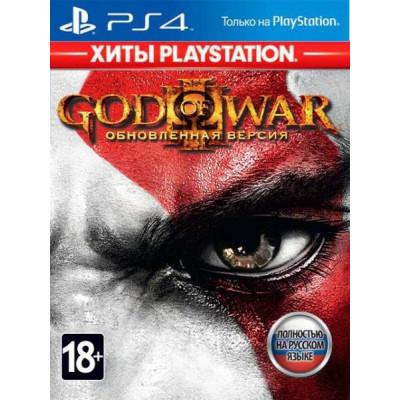 Игра для PlayStation 4 God of War III. Обновленная версия (Хиты PlayStation) (русская версия)