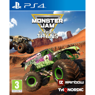 Игра для PlayStation 4 Monster Jam Steel Titans (русские субтитры)