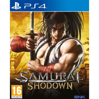Игра для PlayStation 4 Samurai Shodown (русская документация)