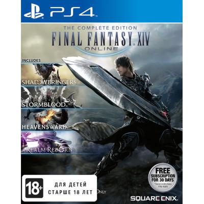 Игра для PlayStation 4 Final Fantasy XIV. Полное издание (A Realm Reborn + Heavensward + Stormblood + Shadowbringers) (английская версия)