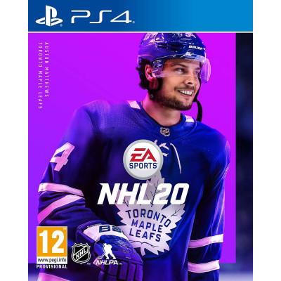 Игра для PlayStation 4 NHL 20 (русские субтитры)