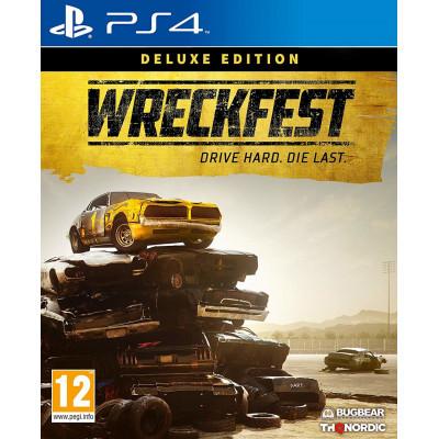Wreckfest. Deluxe Edition [PS4, русские субтитры]
