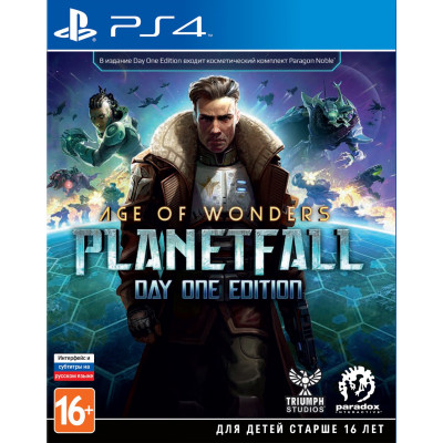Игра для PlayStation 4 Age of Wonders: Planetfall. Day One Edition (русские субтитры)