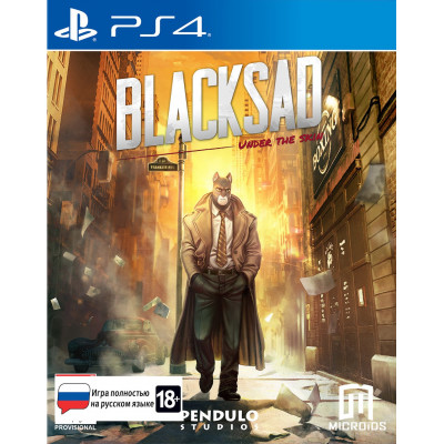 Игра для PlayStation 4 Blacksad: Under The Skin. Limited Edition (русская версия)