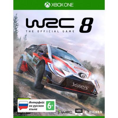 Игра для Xbox One WRC 8 (русские субтитры)