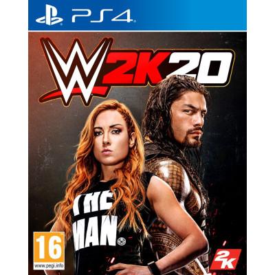 Игра для PlayStation 4 WWE 2K20 (английская версия)