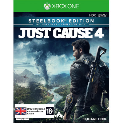 Игра для Xbox One Just Cause 4. Steelbook Edition