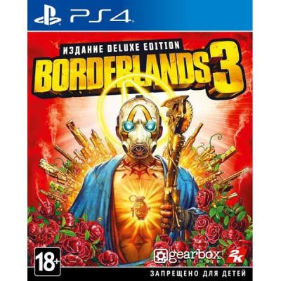 Игра для PlayStation 4 Borderlands 3. Deluxe Edition (русские субтитры)