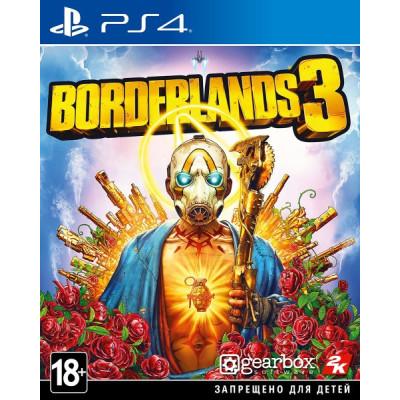 Игра для PlayStation 4 Borderlands 3 (русские субтитры)