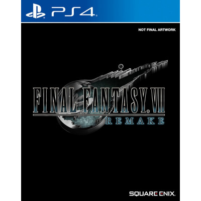Игра для PlayStation 4 Final Fantasy VII Remake (русская документация)