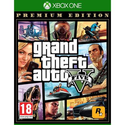 Grand Theft Auto V. Premium Edition [Xbox One, русские субтитры]