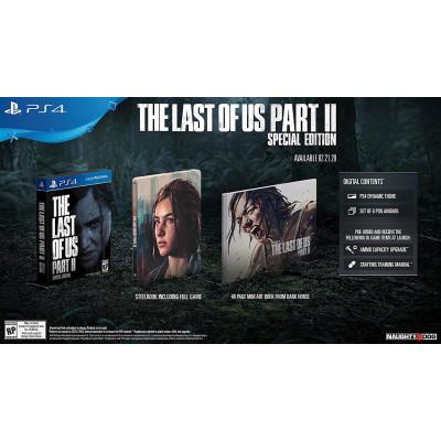 Игра для PlayStation 4 Одни из нас: Часть II. Special Edition (русская версия)