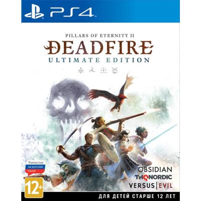Игра для PlayStation 4 Pillars of Eternity II: Deadfire. Ultimate Edition (русские субтитры)