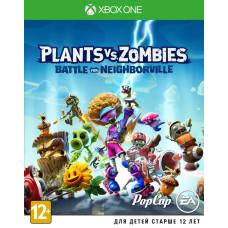 Plants vs Zombies: Битва за Нейборвиль [Xbox One, русские субтитры]