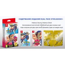 Pokemon Sword & Pokemon Shield. Dual Pack Steelbook Edition [NS, английская версия]
