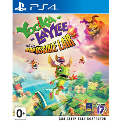 Yooka-Laylee and the Impossible Lair [PS4, английская версия]