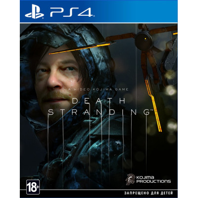 Игра для PlayStation 4 Death Stranding (русская версия)