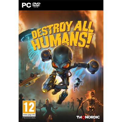 Игра для PC Destroy All Humans! (русские субтитры)
