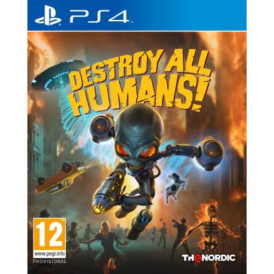 Игра для PlayStation 4 Destroy All Humans! (русские субтитры)