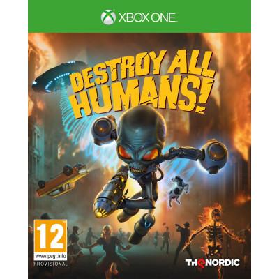 Игра для Xbox One Destroy All Humans! (русские субтитры)