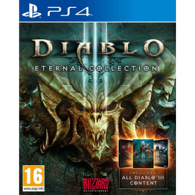 Игра для PlayStation 4 Diablo III. Eternal Collection (русская версия)