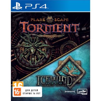 Игра для PlayStation 4 Icewind Dale & Planescape Torment (английская версия). Enhanced Edition (русские субтитры)