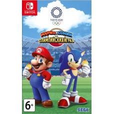 Марио и Соник на Олимпийских играх 2020 в Токио [NS, русская версия]